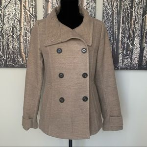 NWOT - Gorgeous H&M Lined Pea Coat